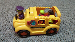 Toy bus with passengers and driver Kitchener / Waterloo Kitchener Area image 1