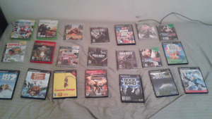 Games for sale ps3, ps2, and Xbox 360