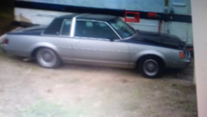 1981 buick regal with turbo. THIS IS NOT A SCAM.