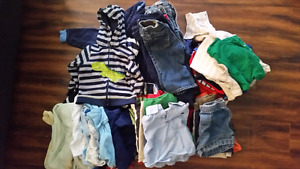 Huge lot of boys 12 to 18 mo clothing
