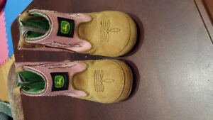 baby john deere western cowgirl  boots