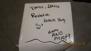 Wii Dance Pad + Game brand new opened but never used