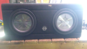 Clarion slims and jbl speakeras/amp