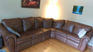 Amazing Lazy Boy Sectional in Mint Condition with Two Recliners
