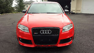 2007 Audi RS4 - Misano Red
