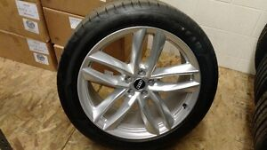 "OEM 21"" Q7 Wheels with tires"
