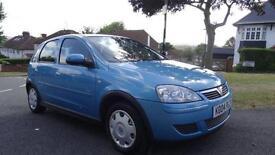 VAUXHALL CORSA 12 MONTHS MOT LOW 46000 2004 Manual 46000 Petrol Blue Petrol