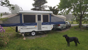 2008 Flagstaff Mac 12 foot Tent Trailer w/ toilet