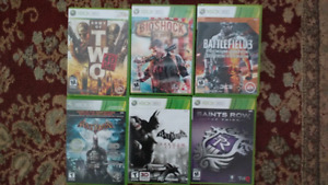 Lot of 20 Xbox 360 games and 2 other games