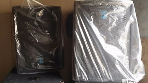 Yorkville UCS1 subwoofers and Elite E12 speakers