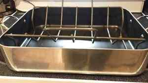 NON STICK. (teflon)   OVEN ROASTER with RACK