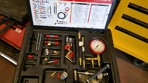 Snap on fuel injection service kit
