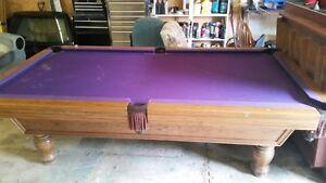Slate Pool Table Set