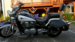 2013 Kawasaki Vulcan VN900 or trade for 4 seat sbys ,4 wheeler
