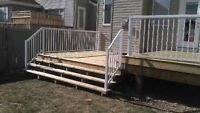 Affordable and Quality Deck and Fences. Book a FREE quote today