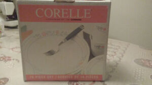 Corelle 16-Piece Apricot Grove Dinnerware Set Windsor Region Ontario image 2