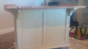 Solid maple bar purchased from Countrytime furniture