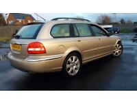 2004 54 JAGUAR X-TYPE 2.5 V6 SE AWD RARE 4X4,SAME OWNER SINCE 2006.NEW CLUTCH .