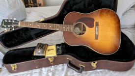 Gibson J15 Acoustic Guitar in Walnut Burst