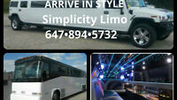 Party Buses and Limos for Proms and Parties