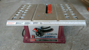 Banc de Scie DELTA / Table Saw