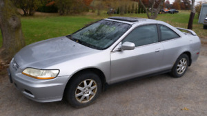 Parting Out 2002 Honda Accord Coupe
