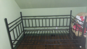 TWIN Metal Bed Frame 50$ OBO