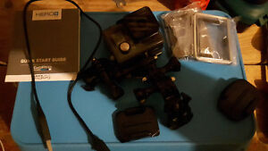 Gopro hero+ lcd and accessories