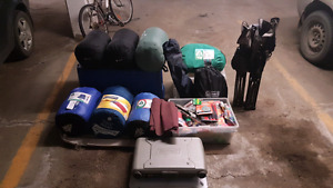Camping gear collection / starter kit