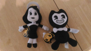 Bendy plush dolls