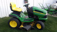 """John Deere 25 hp lawn tractor w/ 48"""" deck AWESOME UNIT!!"""