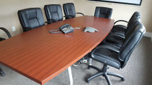 Boardroom Table. Best offer- pick up today