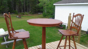 Canadel Pub Style Table and Chairs