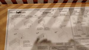 Romano Convertible 4 in 1 Solid Maple Crib