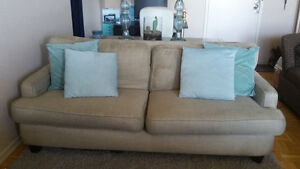 Large comfy couch - goes with any decor!