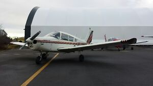 Shared Aircraft Airplane Piper Cherokee, Cessna block time CPL6