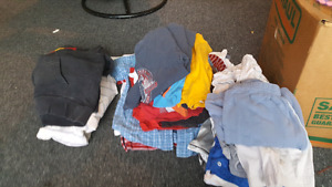 Boys size 7/8 summer clothing