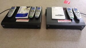 BELL SATELLITE PVR Receivers 9242 & 9241, extra remotes + Dishes