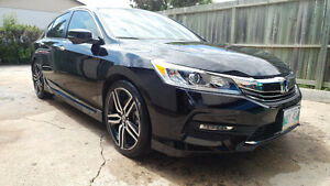 2016 Honda Accord Sport Sedan w/winter tires