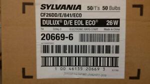 Sylvania 20669-6 CF26DD-E-841-ECO NEW OPEN BOX (50 bulbs)