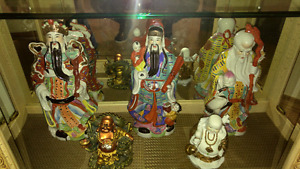 Figurine asiatique
