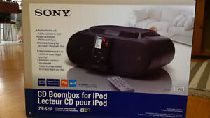CD boombox for Ipod