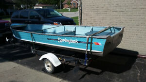 14' fishing boat (without motor)