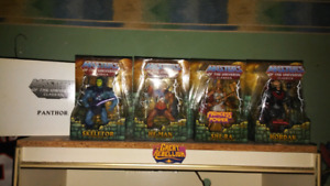 Masters of the Universe Classics Figures.