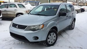 2007 Mitsubishi Outlander LS 4X4 GORGEOUS! CLEAN! CHEAP!!