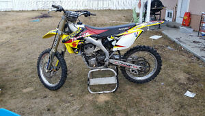 2009 Rmz 450 fuel injected