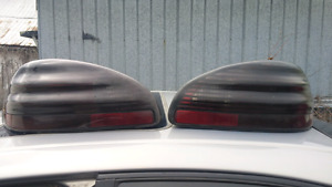 Grand prix tinted tail lights