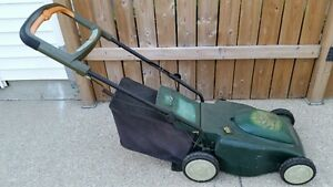 REDUCED battery opperated lawnmower. London Ontario image 1