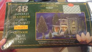 Lumières de Noël en filet