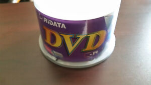 50 Pack RiDATA DVD-R Spindle 4.7GB 120Min 16X Blank Disk Disc